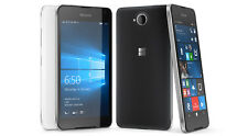 Brand New Microsoft Lumia 650 Black 16GB Dual Sim 8MP NFC 4G Unlocked Smartphone