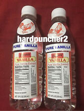 2 Plastic Bottles Danncy Clear Mexican Vanilla Extract 12oz Each