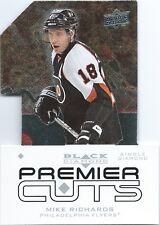 (HCW) 2008-09 Black Diamond Premier Die-Cut MIKE RICHARDS UD Flyers 00641