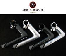 """Zoom Vorbau 1"""" Schaft 22,2 mm Schwarz + Silber Rennrad Singlespeed Retro"""