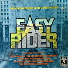 EASY RIDER - LP SOUNDTRACK - EMI / COLUMBIA - GERMAN PRESSING - HENDRIX, PRUNES