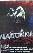 Madonna poster - Sticky and Sweet Tour promo poster 11 x 17