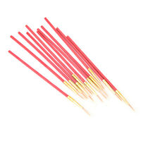 Red 10X/Set Fine Hand-painted Thin Hook Line Pen Drawing Art Pens Paint Brush KQ