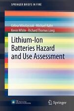SpringerBriefs in Fire: Lithium-Ion Batteries Hazard and Use Assessment by...