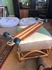 "40"" Wood Longboard Skateboard 3/4"" Thick Wood Randall 180 Trucks Sector 9 72mm !"