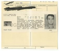 Wanted Notice - Don Stapleton/Forgery - McAlester, OK - 1956