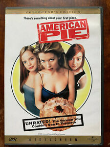 American Pie DVD 1999 Teen High School Movie Classic Unrated Region 1