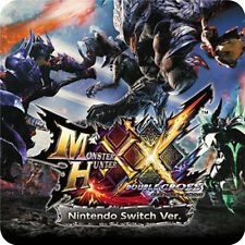 SWITCH Monster Hunter XX Nintendo Switch Ver Capcom Action RPG Games PREORDER