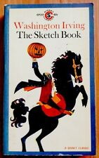 Washington Irving: The Sketch Book ~ Vintage First Printing 1961 Paperback!