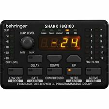 Behringer FBQ100 Shark Automatic Feedback Destroyer with Integrated Mic Preamp