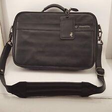 Samsonite laptop case soft leather office luggage social business career
