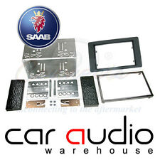 Connects2 CT23SA02 Saab 9-5 2005 On Car Stereo Double Din Fascia Facia Panel