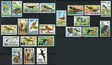 St.Vincent Bird Stamps Scott # 279 - 294, 364 - 366, 379 - 381 Mint MNH 22 Pcs.