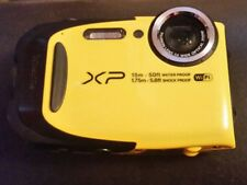 Fujifilm XP80 16.4MP Digital Camera - Yellow Action Lens