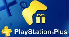 3 Month PS Plus PlayStation Plus PS4 PS3 Vita (6x14Day)+ 2 Gift No Code