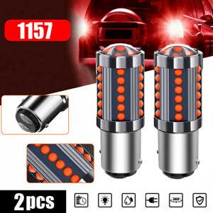 For Toyota 1157 BAY15D 36 COB LED Tail Lamp Car Signal Brake Lights Parking Bulb