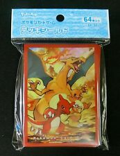 Pokemon Charizard Evolution Line Card Sleeve Pokemon Center
