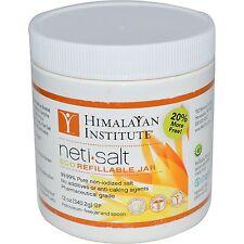 Himalayan Institute, Neti•Salt, Eco Refillable Jar, 12 oz (340.2 g)