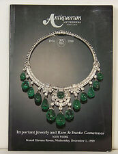 Antiquorum Important Jewelry and Rare & Exotic Gemstones Auction Catalog 122