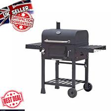 Affumicatore BBQ Giardino Grande Famiglia Americana barbecue carbonella Grill All'aperto Patio