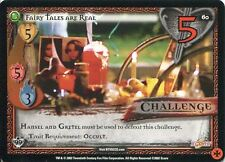 Buffy TVS CCG Limited Class Of 99 Uncommon Card #60 Fairy Tales Are Real