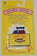 MATCHBOX ORIGINALS AUTHENTIC RECREATIONS NO. 1 ROAD ROLLER