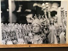 New York Statue Of Liberty Souvenirs Photograph Print Photo Black & White NYC
