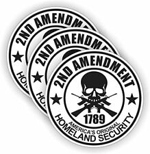 2nd Amendment Hard Hat Decal