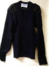 Australian Navy Uniform Bridge Pullover V-Neck Large 80% Wool