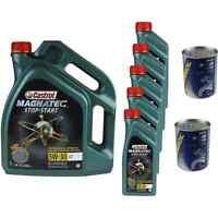 10L Olio Motore Castrol Magnatec Stop-Start 5W-30 C2 2xMotor Doctor