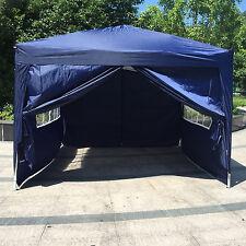 10'x10' Wedding Party Tent Folding EZ Pop UP Garden Gazebo Canopy, w/ Carry Bag
