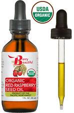 Certified Organic Red Raspberry Seed Oil - 1 fl. oz. (30 mL)