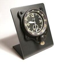 Ständer Halter Borduhr für Sinn NaBo Junghans stand clock aircraft Alu schwarz