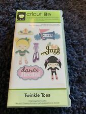 New listing Twinkle Toes Cricut Cartridge - Phrases - Students - Dance - Music