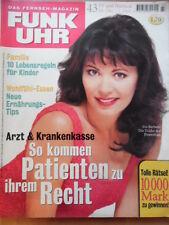 FUNK UHR 43 - 1996 * TV: 26.10.-1.11. Iris Berben Jürgen von der Lippe