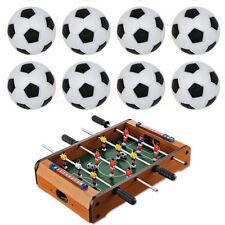 10pcs 32mm Plastic Soccer Table Foosball Ball Football Fussball IO