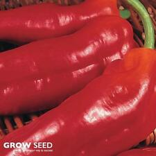 Long Red Marconi Sweet Pepper - 100 Seeds