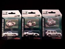 Majorette Die-cast Dubai Police Nissan GT-R Ford Mustang Brabus B63S 4WD, 3 Cars