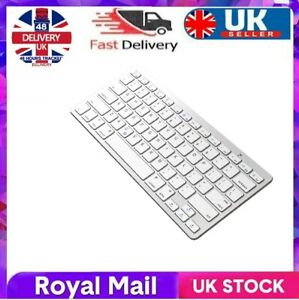SLIM WIRELESS BLUETOOTH KEYBOARD FOR IMAC IPAD ANDROID PHONE TABLET PC UK