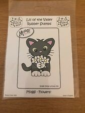 Lili Of The Valley Moggi Flowers Stamp