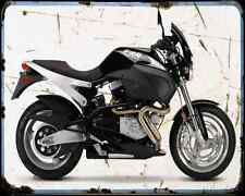 Buell X1 Lighting 01 A4 Metal Sign Motorbike Vintage Aged