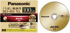 Blu-ray Bd-re XL TL 100gb 2x Panasonic (regrabable) caja Jewel 1 UDS