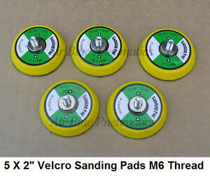 5 x HOOK AND LOOP SANDING PAD / FOR MINI DA SANDER