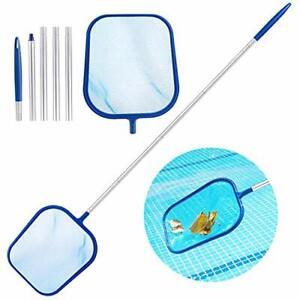 Aiglam Épuisettes de Surface, Kits d'entretien de Piscine Solide avec Filet à Ma