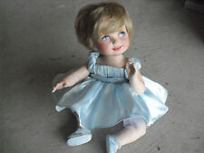 RARE Franklin Mint Prototype Princess Diana Jointed Porcelain Baby Doll #2 LOOK