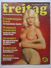 Freitag Nr 12/1979, Sylvia Kristel,  Ilja Richter, Niki Lauda, Christa Kinshofer