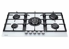 MILLAR GH9051TW 5 Burner Built-in Gas on Glass Hob 90cm