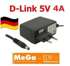 Steckernetzteil 5V/4A 5V 4A 20W Qualitäts Adapter Hohlstecker 5,5/2,1mm NEU