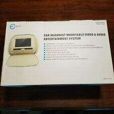 E-SKY Car Headrest Mountable Video & Audio Entertainment System