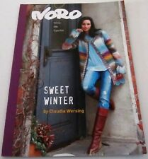 NORO SWEET WINTER Knitting yarn pattern book with 15 Designs for Women
